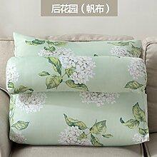 uus Einfache Art-Sofa-Kissen mit entfernbaren Kissen-reinen Farben-Kissen-weichen bequemen Sofa-Kissen einfach, Ihr Haus 40 * 50 * 22cm / 60 * 50 * 22cm zusammenzubringen ( Farbe : E , größe : 60*50*22 )