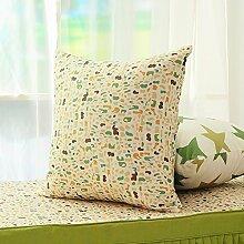 uus Einfaches modernes Hirtenart-Kissen-schönes einfaches Kissen-Sofa-Kissen-Sofabett-Kissen kann für Stuhl-Kissen-Auto-Sitzkissen benutzt werden, das einfach ist, Ihre Hauptfarbe zusammenzubringen ( design : O , größe : 53*53cm )
