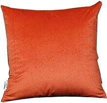 uus Großes Bett-Kissen-reines Farben-Bett-Sofa-Stuhl-Auto Bequeme abnehmbare Abdeckung u. Pp.-Baumwollfüllung 55 * 55cm / 60 * 60cm ( Farbe : P , größe : 60 )