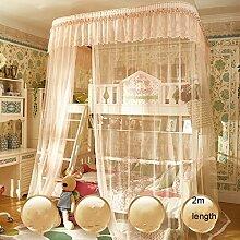 uus Kinder Doppelbett Net Bed Revolver Bett Up And Down Bett Bett 1.2m Bett Schöne Haushalt Mosquito Netze 4feet Bett Mosquito Net ( Farbe : B , größe : Hight 2m )