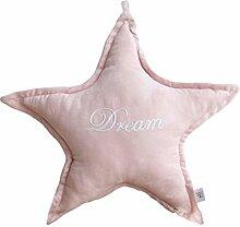 uus Kreatives Sofa Kissen Home Decoretion Star Moon Cloud Heart geformt Sofa Kissen kann als Sofa Stuhl Auto Dekoration verwendet werden ( Farbe : Pink star )