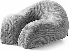uus Langsame Rebound Memory Cotton Dick Kissen Taille Back Bed Von Lazy Pad Schwangere Frauen Alte Menschen Muti-Funktion Legging Kissen Nap Pillow ( Farbe : Grau )