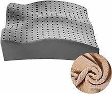 uus Latex Kissen Büro Nizza Boden Kissen Gesäß Kissen Breathable Stuhl Kissen Soft & Komfortable Sitzkissen Für Schwangere Frauen / Fahrer / alten Mann ( Farbe : E )