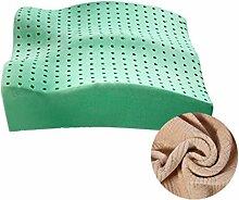 uus Latex Kissen Büro Nizza Boden Kissen Gesäß Kissen Breathable Stuhl Kissen Soft & Komfortable Sitzkissen Für Schwangere Frauen / Fahrer / alten Mann ( Farbe : C )