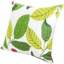 uus Moderne Pastoral Kissenbezug Geeignet für Sofa / Stuhl / Fenster / Bett Kissen Made With Natural Cotton Material ( Farbe : E , größe : 45*45cm )