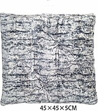 uus Moderne Schönheit Hüfte Kissen weichen und bequemen Sofa Stuhl Kissen Sitz Kissen Kissen Dicker Büro 45 * 45 * 5cm ( Farbe : G )