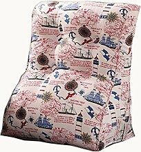 uus Modernes Dreieck-Sofa-Kissen-Stuhl-Sitz Nützliches Kissen Populärer langsamer Rückstoß Ergonomischer Entwurf Bequeme Rückenlehne 45 * 55cm / 55 * 60cm ( größe : 45*55cm )