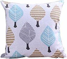 uus Modernes Pastoral-Sofa-Kissen Bequemes Pflanze-Muster-Kissen für Sofa / Stuhl / Fenster / Bett Verschiedene Farben und Größen für Ihre Wahl einfach, mit Ihrem Haus zusammenzubringen ( Farbe : G , größe : 30*45cm )
