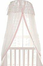 uus Moskitonetze Kinderzimmer Baby Dome Boden stehen Baby Bett Netze Kinder Bett Bett Netze mit Kinderbetten Baby Bett Netze ( Farbe : Blau )