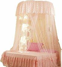uus Mosquito Net Dome Netze erhöhen 1,5 m Durchmesser Decke Mosquito Netze Kuppel Einzelbett Mosquito Netze Mutter Bett Krippe Studenten oberen und unteren Bett Netze ( Farbe : Orange , größe : 2.0m Bed )