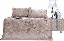 uus Sommer kühle Bett Matte dreiteiliges Set 1.8m Bett zusammenklappbare Sommer Mat Sommer Einzelbett Sommer Matte Nostalgie
