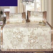 uus Sommer kühlen Eis Seide Schafbett Matte zusammenklappbare Sommersitzplätze 1.5m Bett einzelne doppelte Matte dickte Matte 1,5m Bett ( Farbe : B )