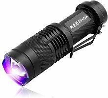 UV-Detektor Ultra Violet LED Taschenlampe