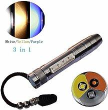 UV-Lampen LED Taschenlampe 18650UV-Lampe
