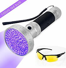 UV Taschenlampe Surenhap 100 LEDs UV Schwarzlicht
