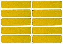UvV 10 Stück Reflektoren Sticker Aufkleber je 100