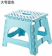 UWSZZ Falten kunststoffhocker Kind nach tragbaren Gartenstühle Klappstühle home Schuh Sitzbank Mazar Sitzbank 8403 Königin blau