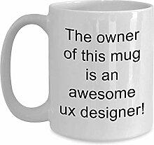 Ux Designer Kaffee-Haferl - Geschenkideen für