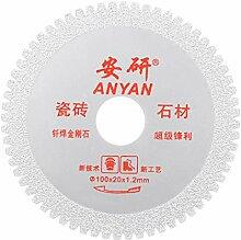 uxcell 10,2 cm Diamant-Trennscheiben Schleifen mit