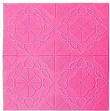 Uxcell 3D-Wandpaneel 68,6 x 68,6 cm Schaumstoff