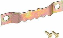 uxcell Sägezahn-Kleiderbügel, 3,8 cm, Doppelloch