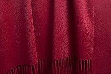 uxuriöse Kaschmirdecke Perlmutt 130x190cm aus
