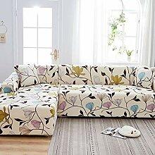 uyeoco Couch überzug L Form Sofabezug(L Form
