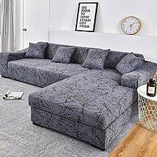 uyeoco Sofa überzug 1/2/3/4 Sitzer Sofabezug(L