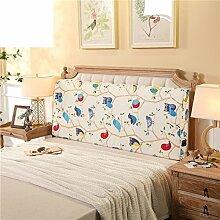 UYHSAUDGHFHE Bett soft pack Massivholzbett kissen Doppelte tatami-rückenlehne Kissen Zurück Bettdecke-C 200x10x60cm(79x4x24)