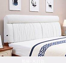 UYHSAUDGHFHE Bett stoff soft bag Polsterung aus dem bett Zurück Bett tatami leinenkissen-B 155x60cm(61x24inch)