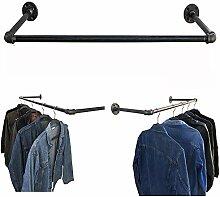uyoyous Industrie-Rohr-Kleiderständer, 76,2 cm,