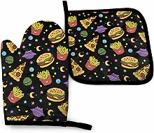uytrgh Space Hamburger und Pommes Frites
