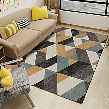 UYUOPLK Teppich,Einfache geometrische Muster