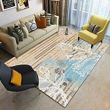 UYUOPLK Teppich,Einfaches Schlafzimmer Wohnzimmer