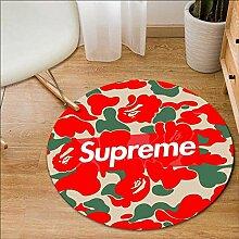 UYUOPLK Teppich,Geometrische Teppich Garderobe