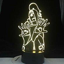 Uzumaki Anime DEIDARA Naruto X Lampe Sasuke