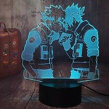 Uzumaki Naruto Japanisch Naruto Anime 3D LED