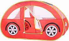 UZZHANG Kinderspielzelt-Auto-Art Faltbare