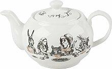 V&A Alice in Wonderland Mini-Teekanne, 450 ml (16