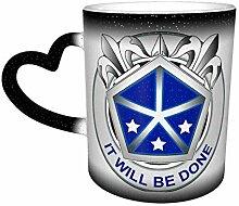 V Corps Farbwechsel Sternenhimmel Becher