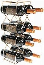 V Max Weinregal für 8 Flaschen, modernes Design,