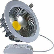 V-TAC 1165 40 W LED Einbaustrahler 230 V kaltes