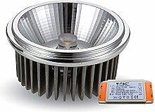 V-TAC COB AR111 LED Einbaustrahler 20W 12V 20°