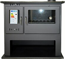 V05 - Holzofen mit Backofen Eco Design BlmSchV-2