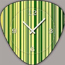 V197 Dixtime Designer Wanduhr, Wanduhren, Vintage Modell Plectrum