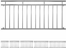 V2Aox Edelstahl Französischer Balkon Geländer