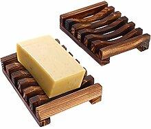 VABNEER Seifenhalter Seifenschale Holz Dusche