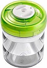 vacSy Vakuum Tupperware Frischhalte-Box für Lebensmitteln - Frischhalte Dose mit 0,75 Liter