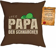 Väter/Deko-Kissen/Sofa-Kissen m. Füllung