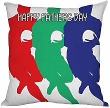 Väter Tag Geschenk Rugby Design, hergestellt in Yorkshire tolle Geschenkidee für Dad